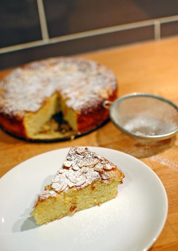 ciasto cytrynowe z migdałami i kokosem