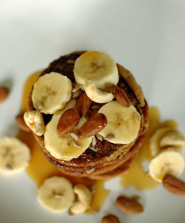 pieczone placki bananowe