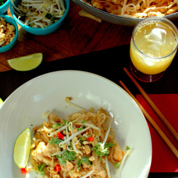 pad thai z kurczakiem czyli makaron po tajsku