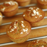 muffiny bananowe z płatkami owsianymi