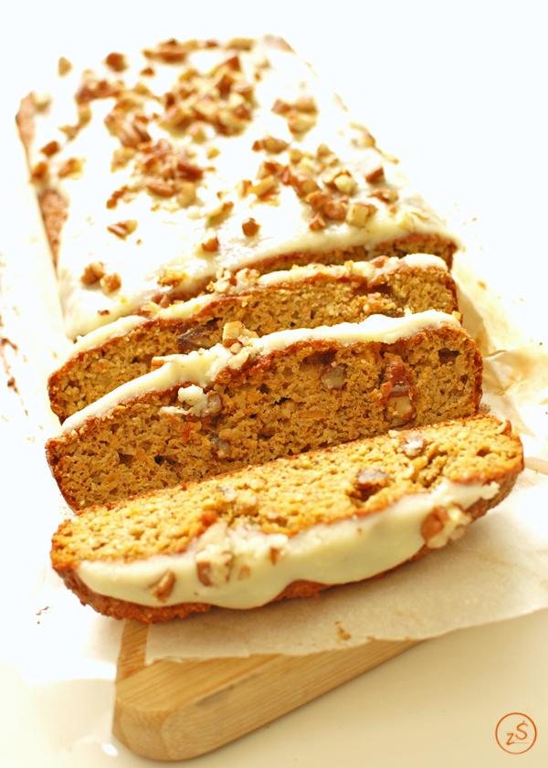 niskowęglowodanowe ciasto marchewkowe