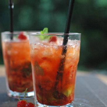 mojito truskawkowe, czyli celebracja lata