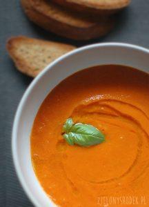 przepis na najlepszy krem z pomidorów