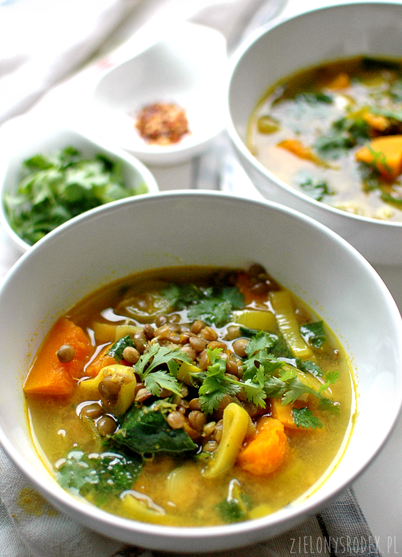 jesienna rozgrzewająca zupa