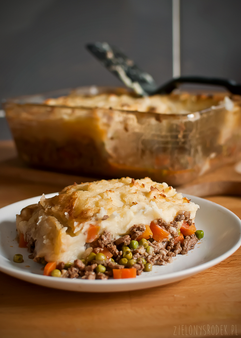 cottage pie z guinessem czyli zapiekanka z mięsa mielonego i ziemniaków