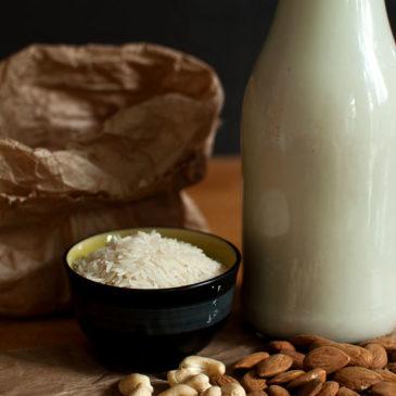 domowe najlepsze: mleko roślinne