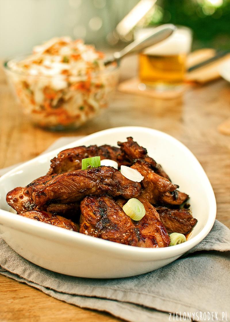 kurczak bulgogi (po koreańsku)
