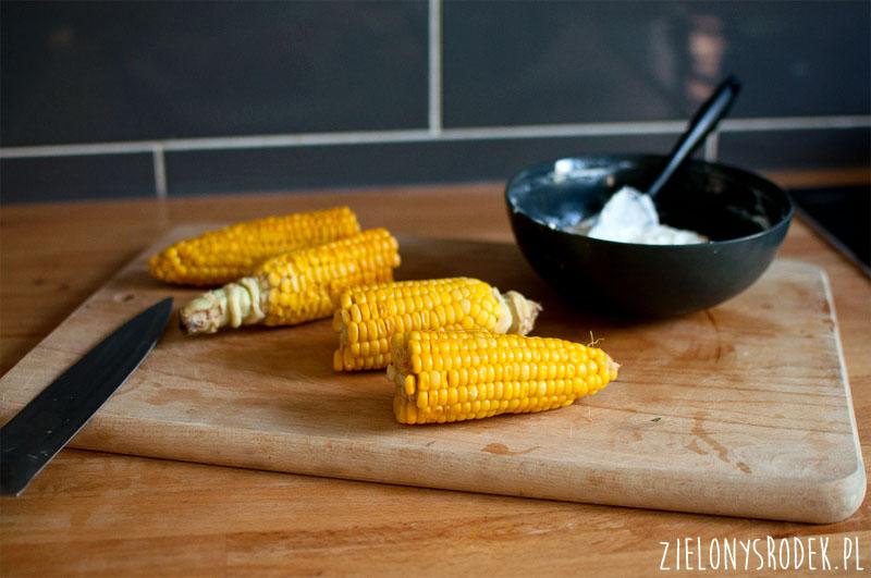 pieczone placki z kukurydzą