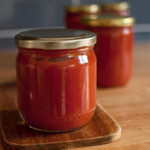 najprostszy przecier pomidorowy, domowa passata, przecier z pieczonych pomidorów
