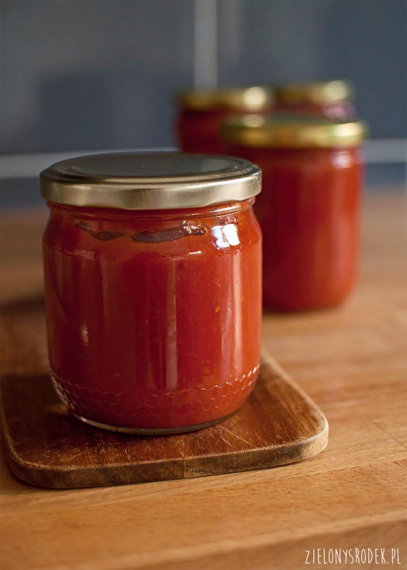 najprostszy przecier pomidorowy