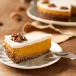pumpkin pie, ciasto z dyni z imbirem, bez cukru, bez mąki.