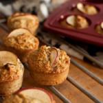 muffiny jabłkowe z kokosem i orzechami