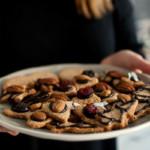 ciasteczka migdałowo-owsiane. zdrowe i pyszne