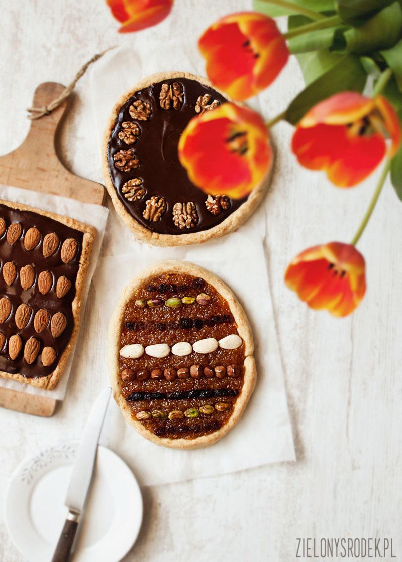 mazurki wielkanocne: pomarańczowy, czekoladowy i karmelowy i wszystkie 3 zrobione w 2 godziny!